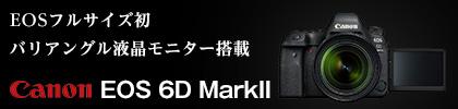 キヤノン 新製品EOS 6D MarkII width=100%