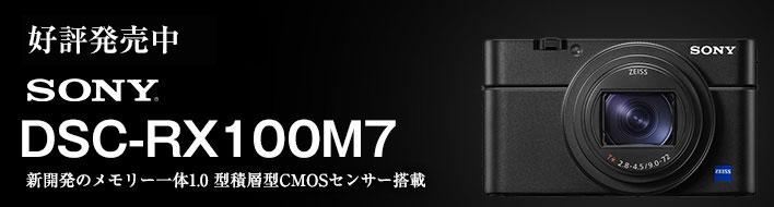 ソニー Cyber-Shot DSC-RX100M7予約受付中
