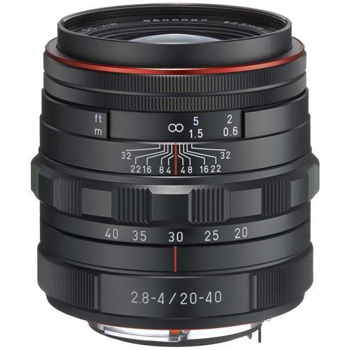 【クリックで詳細表示】ペンタックス HD PENTAX-DA 20-40mm F2.8-4 ED Limited DC WR ブラック