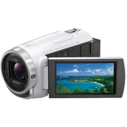 ソニー デジタルHDビデオカメラレコーダー HDR-CX680 W ホワイト
