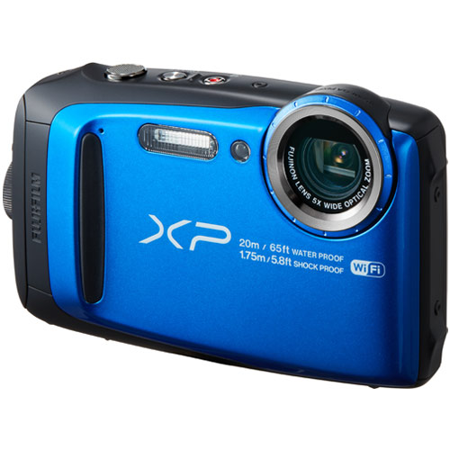 フジフイルム FinePix XP120 ブルー