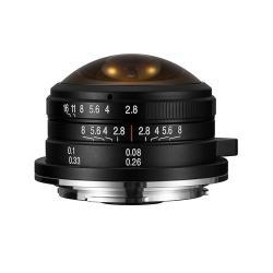 LAOWA 4mm F2.8 Fisheye MFT マイクロフォーサーズ用[LAO0048]