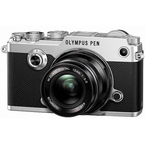 オリンパス PEN-F 12mm F2.0 レンズキット シルバー