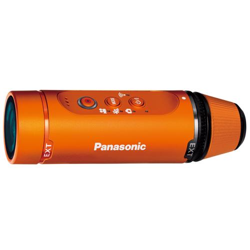 パナソニック ウェアラブルカメラ HX-A1H-D オレンジ