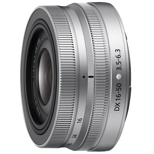 NIKKOR Z DX 16-50mm f/3.5-6.3 VR シルバー