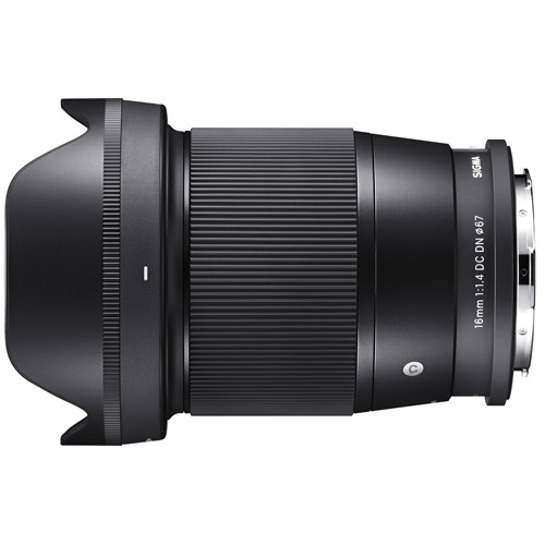 16mm F1.4 DC DN Contemporary Lマウント用
