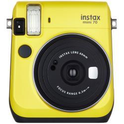 フジフイルム インスタントカメラ instax mini 70 「チェキ」 イエロー