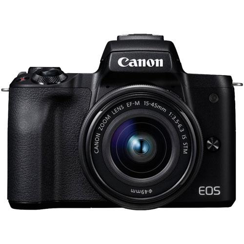 EOS Kiss M EF-M15-45 IS STM レンズキット ブラック