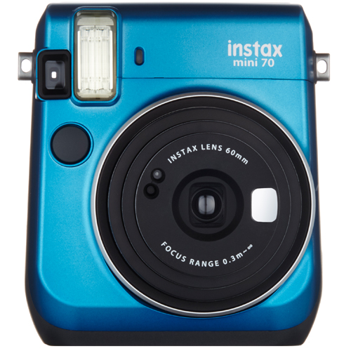 ブラック インスタントカメラ 「チェキ」 instax mini 70N フジフイルム