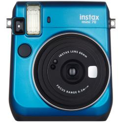 フジフイルム インスタントカメラ instax mini 70 「チェキ」 ブルー
