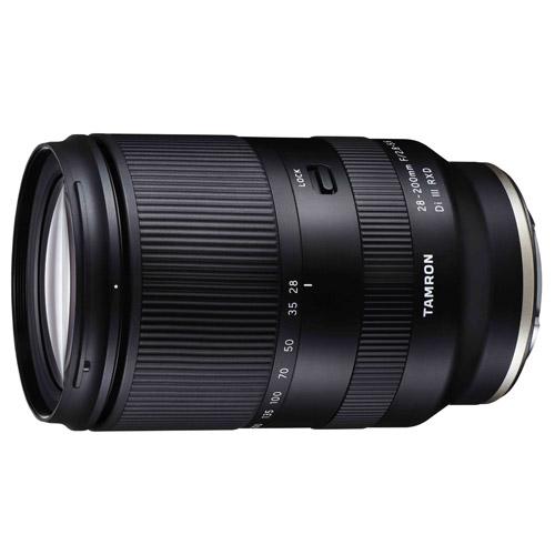 28-200mm F/2.8-5.6 Di III RXD ソニーEマウント用