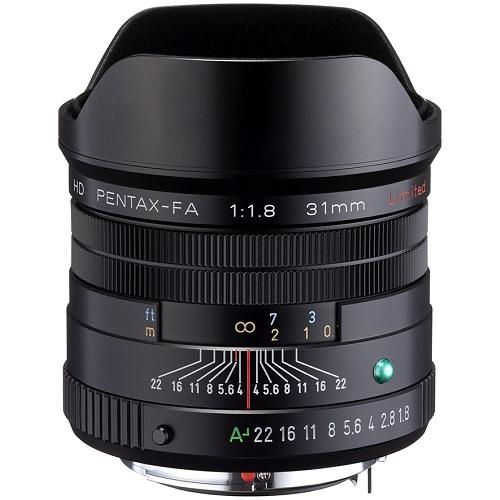 HD PENTAX-FA 31mm F1.8 Limited ブラック