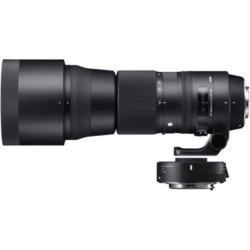 【クリックで詳細表示】シグマ 150-600mm F5-6.3 DG OS HSM Contemporary テレコンバーターキット キヤノン用 《納期約1週間》