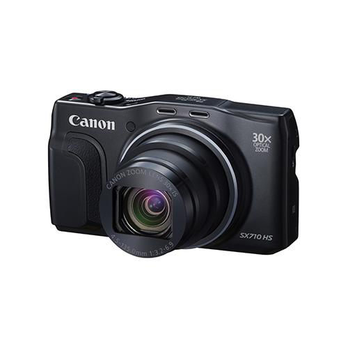 [ブラック] CANON PowerShot SX720 HS PowerShot 【送料無料】 [コンパクトデジタルカメラ(約2,030万画素)]