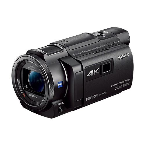 ソニー デジタル4Kビデオカメラレコーダー FDR-AXP35 BC ブラック