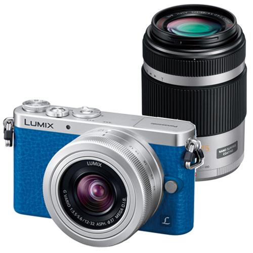 パナソニック LUMIX DMC-GM1SK-A ダブルズームキット ブルー
