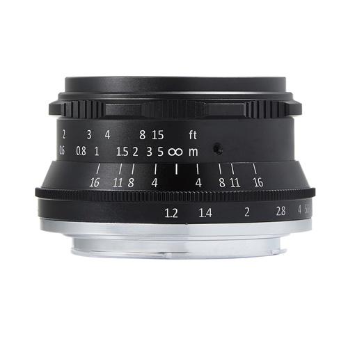 【クリックで詳細表示】七工匠 7artisans 3512MB 35mm F1.2 キヤノンEF-Mマウント 《納期約1-2週間》